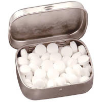 Promotional Rectangle Mint Tins for company giveaways