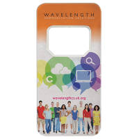 Rectangle Shaped Bottle Openers in White