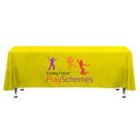 Promotional Tablecloths For Marketing Events From Total Merchandise