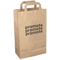 Our printed paper bags make an eco-friendly alternative to traditional plastic carriers