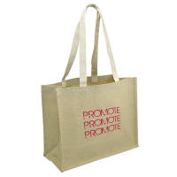 These Sherborne Juco Bags are made from a sturdy blend of eco-friendly jute & cotton