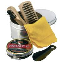 Shoe Polish Kits in Silver