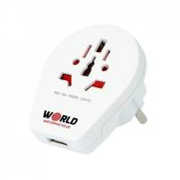 Skross Europe Travel Adaptors in White