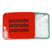 Promotional Slider Mint Tins for Campaign Giveaways
