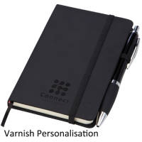 Promotional Small Noir Notebooks for offices