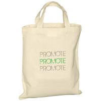 Small Cotton Tote Bags Printed With Your Branding From Total Merchandise