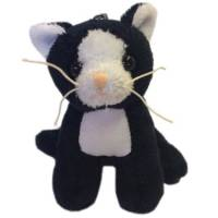 Personalised Soft Toy Animal Keyrings for Children