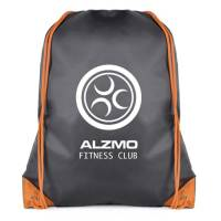 Promotional Spencer Drawstring Bags printed with company logo