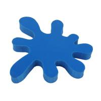 Promotional Splat Erasers in blue from Total Merchandise