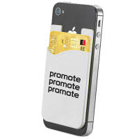 Our promotional Sticky Phone Card Holders are available for dispatch in as little as 7 working days!