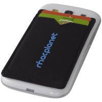 Sticky RFID Phone Card Holders in Black