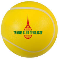 Custom Printed Stress Tennis Ball in yellow from Total Merchandise