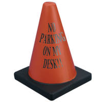Stress Traffic Cone in Black/Orange