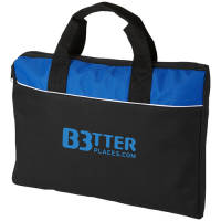 Tampa Conference Bags in Black/Blue