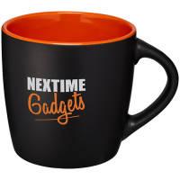 Two Tone Rivera Mugs in Black/Orange