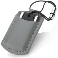 These smart USB Mini Leather Pouch Flashdrives make a promotional giveaway your customers will love!