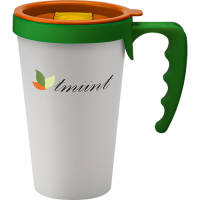 Universal Travel Mugs in White