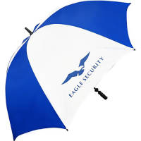 Personalised Value Fibrestorm Golf Umbrella with Printed Logo
