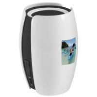 Voyager Bluetooth Speakers in White/Black