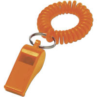 Personalised Whistle and Cord are Great for Sports Events