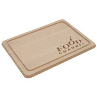 Branded Wooden Chopping Boards laser engraved with a company logo from Total Merchandise