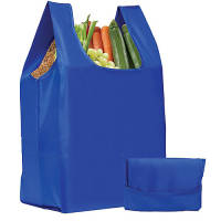 Yelsted Fold Up Shopper Bags in Royal Blue