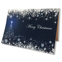 Our A6 promotional Christmas cards are perfect for generating awareness for your brand this winter.