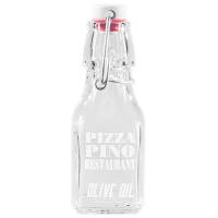 Promotional 125ml Mini Swing Top Glass Bottles for Engraving with Corporate Logos