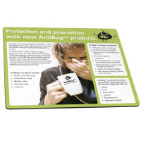 Promotional AntiBug® Mouse Mats from Total Merchandise
