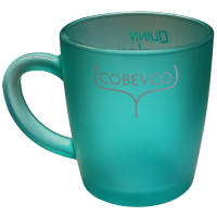 Promotional Any Colour Roma Glass Mugs as Company Merchandise