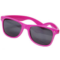 Corporate Branded Sunglasses with Company Logo in Pink from Total Merchandise