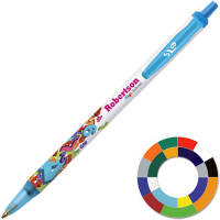 Corporate Branded BiC Clic Stic Ballpen Printed in Full Colour by Total Merchandise