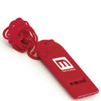 Personalised Budget Flat Whistles with Campaign Designs