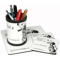Promotional Hardtop Desk Set perfect for Office Merchandise
