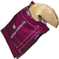 Promotional Fortune Cookies printed with a company logo to 1 side from Total Merchandise