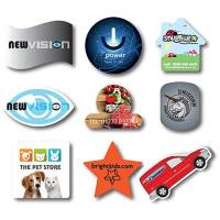 Promotional Shaped Flexible Fridge Magnets Printed with Your Design from Total Merchandise