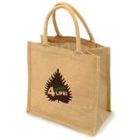 Promotional Halton Natural Jute Bag for event giveaways
