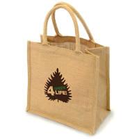 Promotional Halton Natural Jute Bag for event giveaways