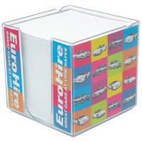 Printed Maxi Insert Block Holder for desktop advertising