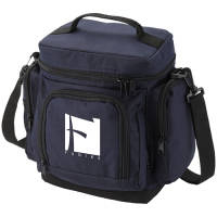 Multi Pocket Cooler Bag in Navy