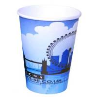 8oz Single Wall Paper Cups in White