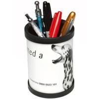 Promotional Desk Pen Pots for Office Advertising