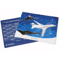 Personalised Double Sided Mouse Mat with Company Designs