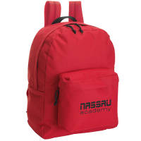 Promotional backpacks in red printed with your logo from Total Merchandise