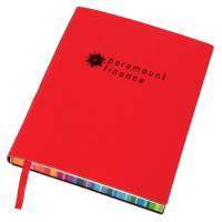 Promotional Rainbow Page Notebooks for schools