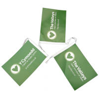 A5 Rectangular Bunting Printed with Your Full Colour Design from Total Merchandise