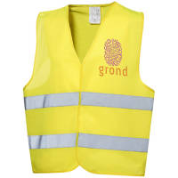 Printed Safety Reflective Vest with logos