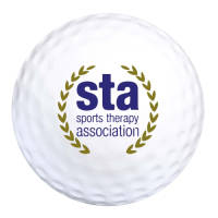 Promotional printed Stress Golf Balls with a logo printed to 1 side from Total Merchandise