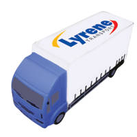 Personalised Stress Lorry is ideal merchandise for haulier companies