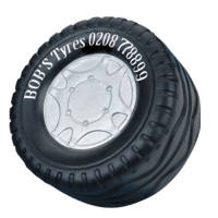Promotional Stress Tyres for Company Giveaways